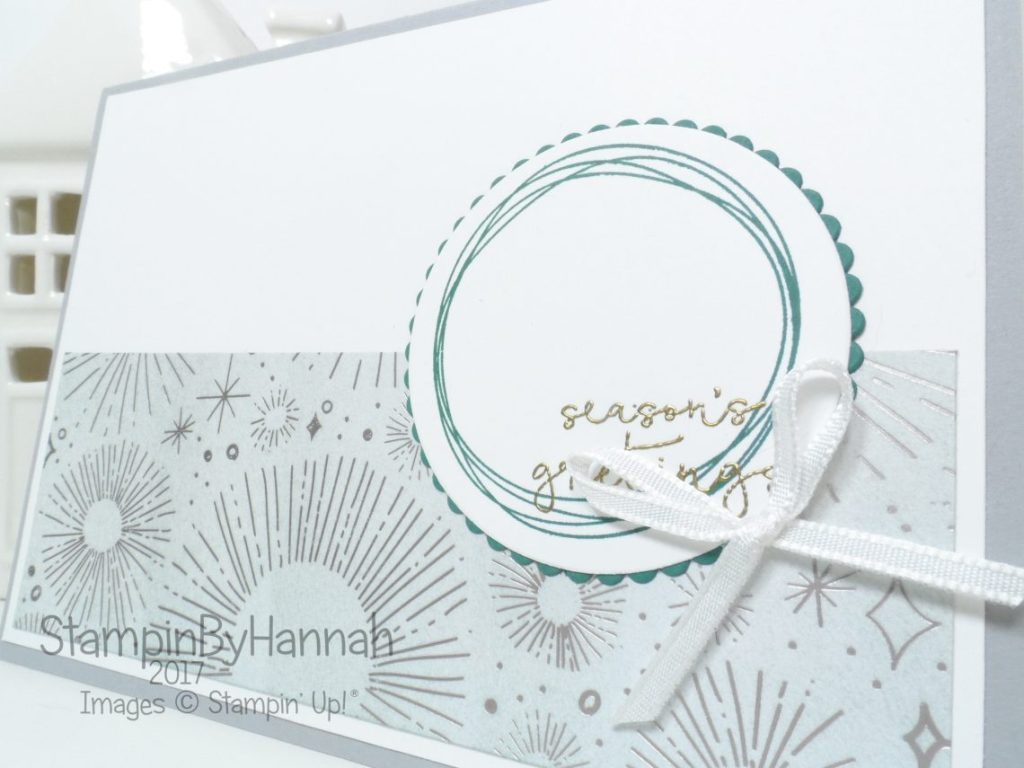 Inspire.Create.Challenges Sketch Challenge using Year of Cheer from Stampin' Up!