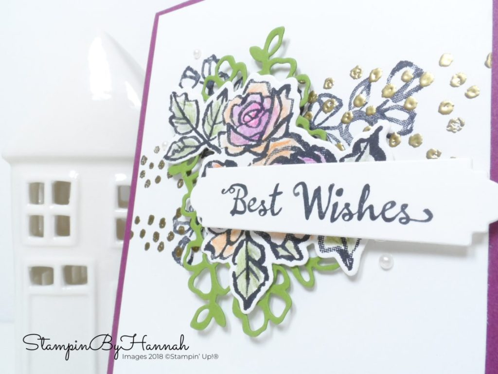 Pootlers Team Blog Hop with PootlesPapercraft using Petal Palette from Stampin' Up!