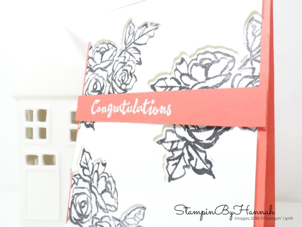 Using Coordinating Dies and Die Cutting in cardmaking using Petal Palette from Stampin' Up!