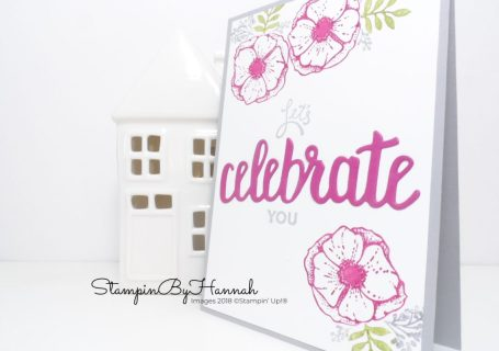 Bright and fun Congratulations card using Amazing You from Stampin' Up! Free during Sale-a-bration
