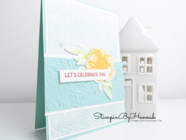 Painted Seasons Facebook Live featuring Stampin' Up! products with StampinByHannah