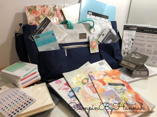 What could your Stampin' Up! Sale-a-bration Starter Kit look like?