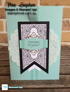 Beautiful Banners Stampin' Up!
