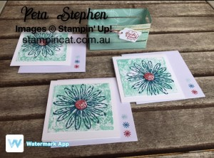Wood Crate Daisy Delight Stampin' Up!