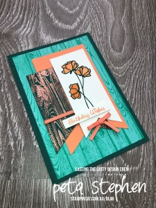 Stampin' Cat CTC193 Hardwood Love What You Do Stampin' Up!