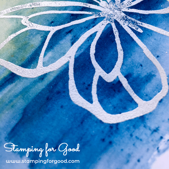 Stamping for Good Stampin Up Card Idea Beautiful Day Butterfly Embossing