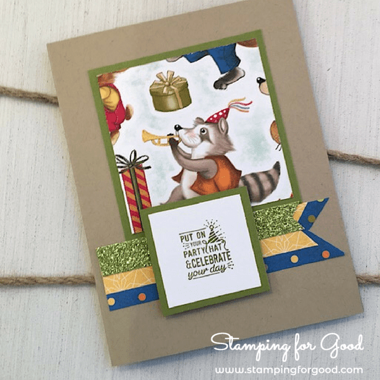 Stamping for Good Stampin Up Card Idea Birthday Memories Fancy Fold 2