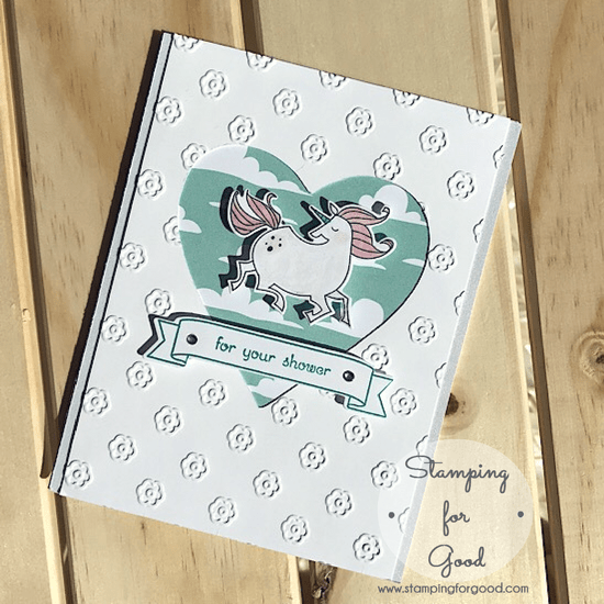Stamping for Good Stampin Up Card Idea Magical Day Unicorn