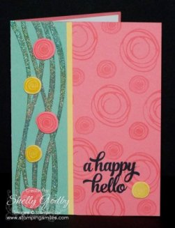 Stampin' Up! Swirly Bird Card