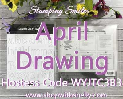 The Stampin' Up! All Lined Bundle for my April Drawing!
