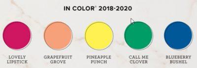 2018-2020 In Color Combinations e-book with 50 unique color combinations