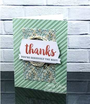 Stampin' Up! Seriously the Best Project Kit and Stampin' Up! Seriously the Best Stamp Set for seriously quick cards