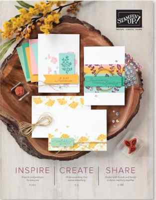 2020-2021 Stampin' Up! Catalog on Sale for 24 hours only!