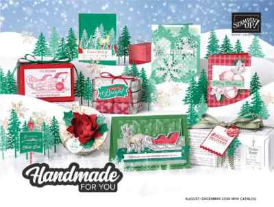 Stampin Up August-December 2020 Mini Catalog