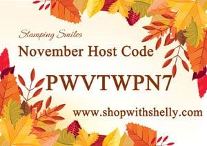 Stamping Smiles November Host Code