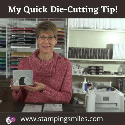 My quick die-cutting tip