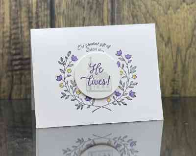 Clean and simple Stampin' Up! Gift of Hope card