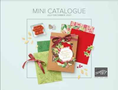 July-December 2021 Stampin' Up! Mini Catalog