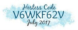 July hostess code, Stamping With Steph
