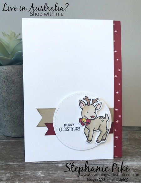 Seasonal Chums and Stampin' Blends! For more information www.stampingwithsteph.com.au