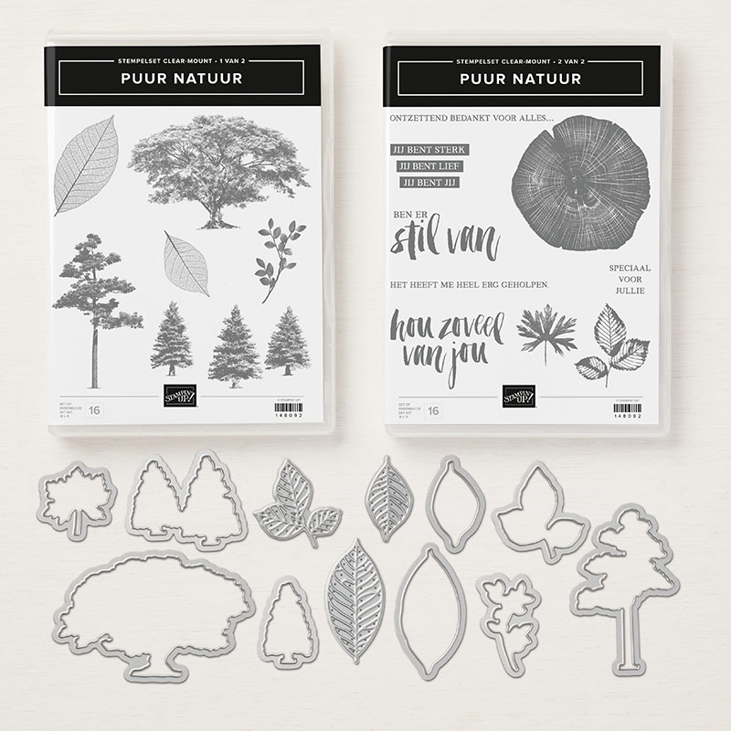Stampin Up, Puur Natuur, bundle rooted in nature, stampin treasure