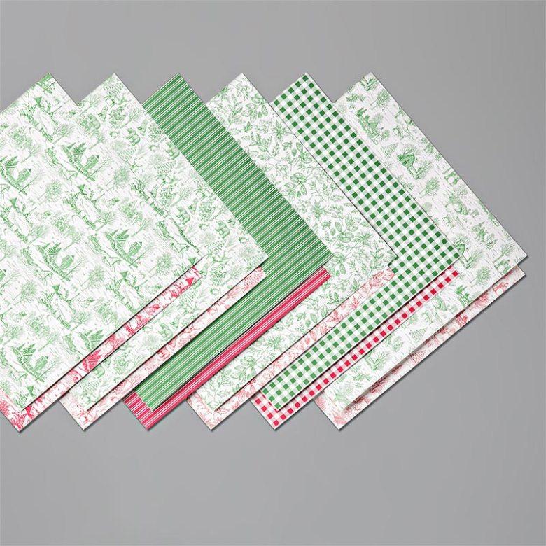 toile tidings, dsp, papier met design, 150432, stampin up, stampin treasure