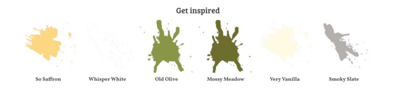 get inspired, color combo, stampin up, old olive, so safron, mossy meadow, very vanilla, whisper white