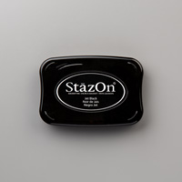 Jet Black Stazon Ink Pad