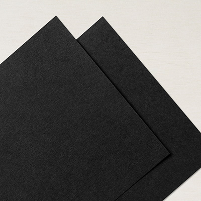 "Basic Black 12"" X 12"" Card Stock"
