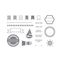 Settin' Sail Photopolymer Stamp Set