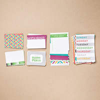 This is the Life Project Life Card Collection  by Stampin' Up!