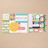 This is the Life Project Life Accessory Pack  by Stampin' Up!