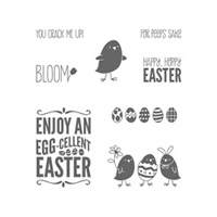 For Peeps' Sake Clear Stamp Set
