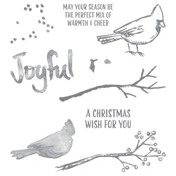 Joyful Season stamp set, Stampin' Up!