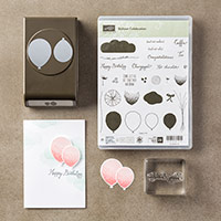 Balloon Celebration Photopolymer Bundle by Stampin' Up!