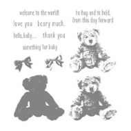 Baby Bear Photopolymer Stamp Set
