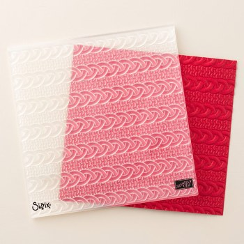 Cable Knit Dynamic Textured Impressions Embossing Folder