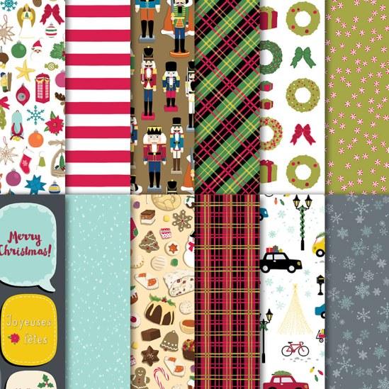 Christmas Around the World Designer Series Paper
