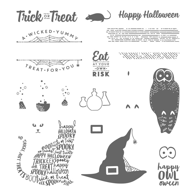 Spooky Cat Photopolymer Stamp Set