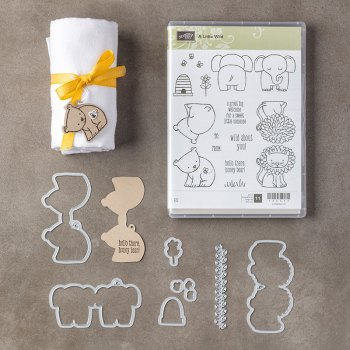 A Little Wild Bundle, Stampin' Up!