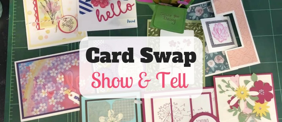 Show & Tell: Spring Flowers Swap