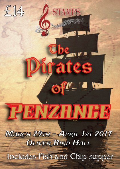 Pirates of Penzance Cast List!