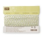 Stamp with Sarah Berry Stampin Up UK Old Olive Bakers Twine 134579