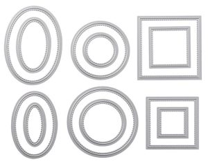 The Stitched Shapes Framelits from Stampin' Up! are back!