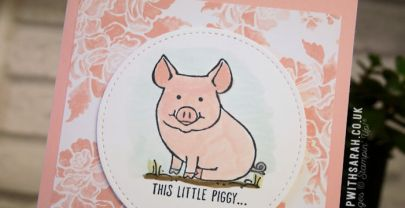 Thank You Cards with This Little Piggy stamp set