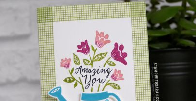 Amazing You card with the Grown with Love stamp set from Stampin' Up!