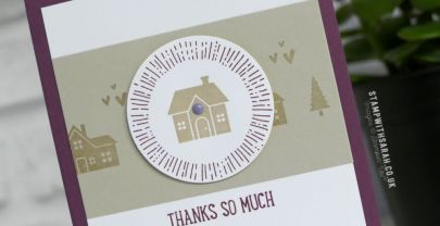 Thank you cards with Stampin' Up! Hearts Come Home stamp set