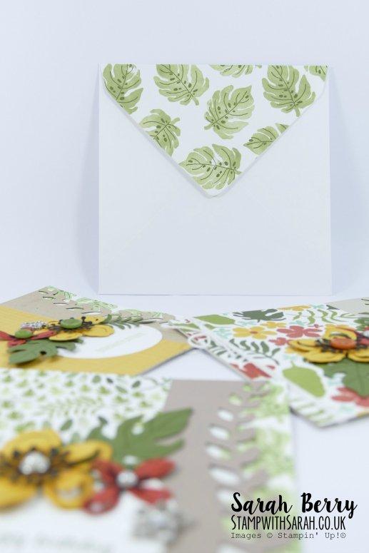 Botanical Blooms Coordinating envelope #stampwithsarah #stampinup