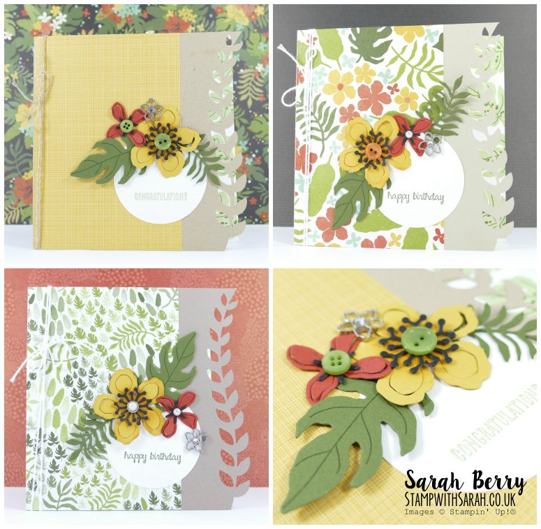 Botanical Blooms card collection #stampwithsarah #stampinup