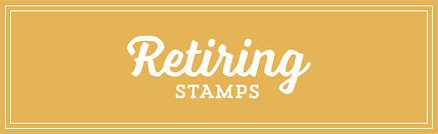 Retiring Stamps 2016 Stamp with Sarah